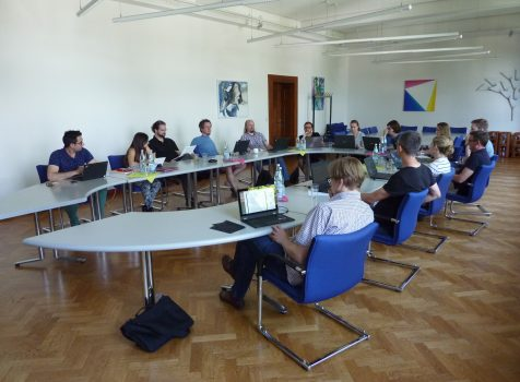 Plenary meeting in Heidelberg