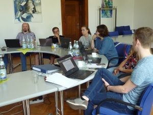 Meeting of people working on the INSENSION project